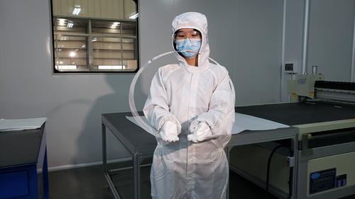 醴陵旗滨量产0.33毫米厚高端电子玻璃 弯成环状也不会折断