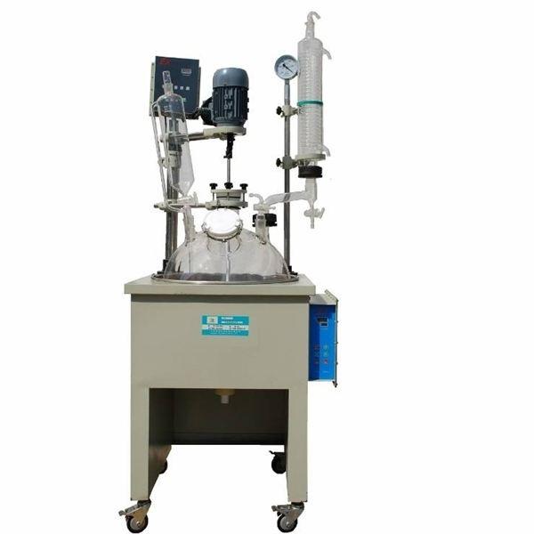 立式单层玻璃反应釜应用在行业中具有以下功能