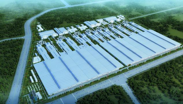 """广西新福兴硅科技产业园项目建设启动""""快进键"""""""